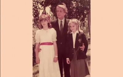 Jaime Morey con sus hijas