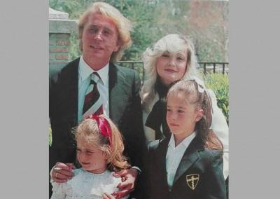 Jaime y su familia