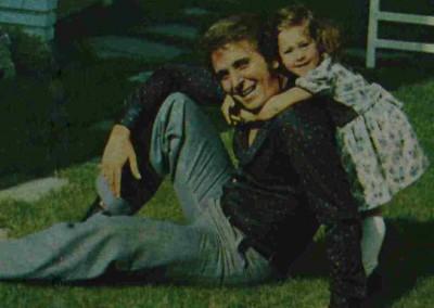 Jaime Morey con su hija Sandra Morey