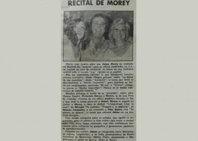 Recital de Morey
