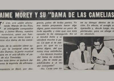 Jaime Morey -Dama de las Camelias