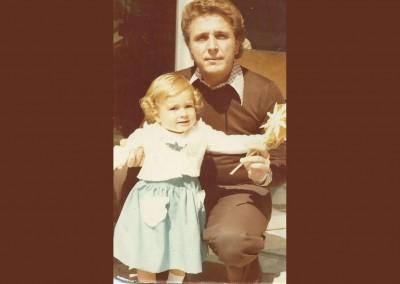 Jaime Morey con su hija Laura Morey