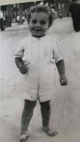 Jaime Morey infancia