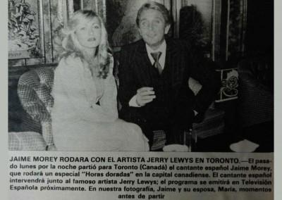 Jaime Morey rodará con Jerry Lewis