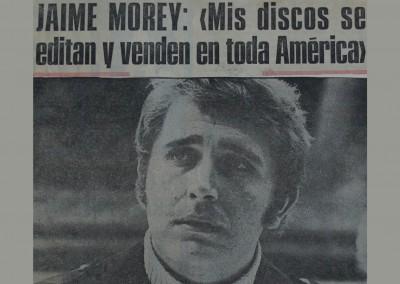 Jaime Morey - Edita y vende discos en América
