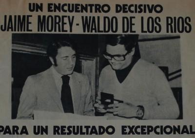 Jaime Morey y Waldo de los Rios