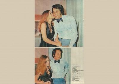 Jaime Morey y Maria forman una pareja muy feliz