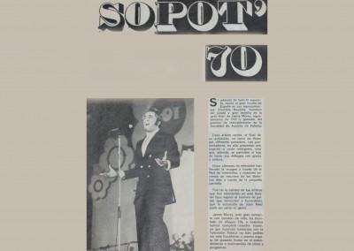 Jaime Morey - Festival SOPOT 70