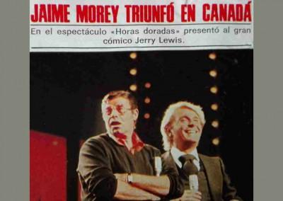 Jaime Morey - Triunfó en Canadá